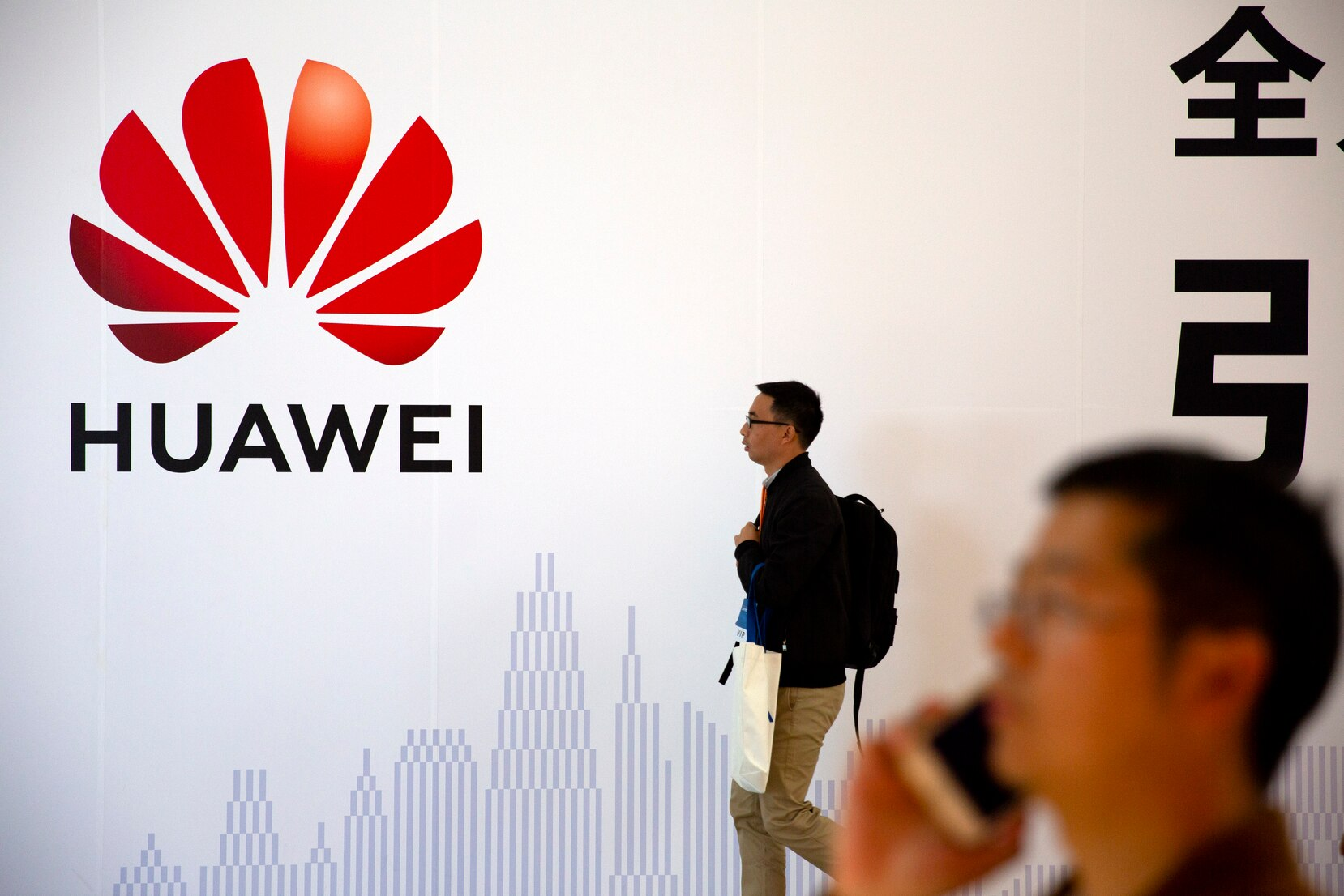 Huawei is starting to suffer as the Trump administration steps up efforts to slam the door on access to Western components and markets in a widening feud with Beijing over technology and security. (Mark Schiefelbein/AP/CP)